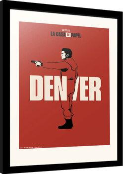 Framed poster La Casa De Papel - Denver