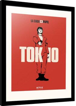 Framed poster La Casa De Papel - Tokio
