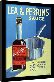 Lea & Perrins - The Original Worcester Sauce Framed poster