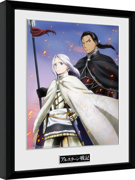 Legend of Arslan - Embers Framed poster