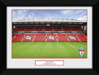 Liverpool - Anfield Framed poster