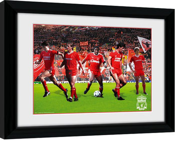 Liverpool - Legends Framed poster
