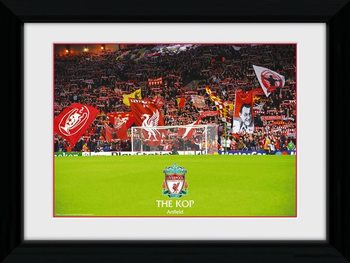Liverpool - The Kop Framed poster