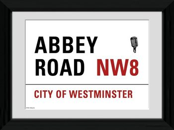 London - Abbey Road Framed poster