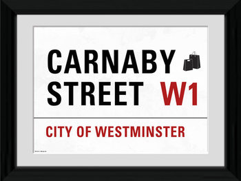 London - Carnaby Street Framed poster