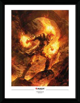 Magic The Gathering - Chandra Nalaar Framed poster