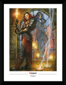 Magic The Gathering - Chandra, Torch of Defiance Framed poster