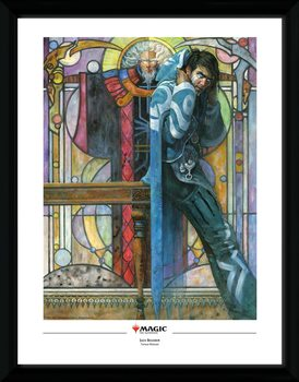 Magic The Gathering - Jace, The Cunning Castaway Framed poster