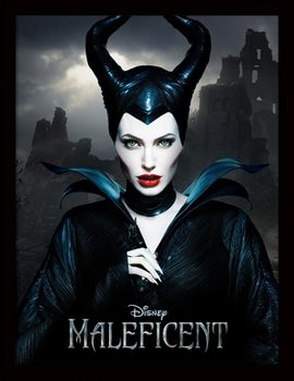 Maleficent - Dark Framed poster