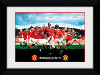 Manchester United - Legends Framed poster