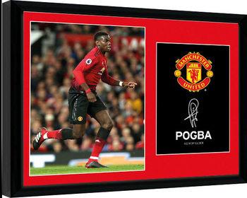 Manchester United - Pogba 18-19 Framed poster