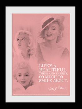 Marilyn Monroe - Angel plastic frame