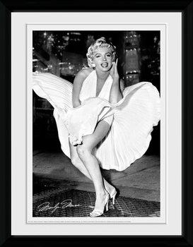 Marilyn Monroe - Times Square plastic frame