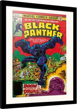 Framed poster Marvel - Black Panter