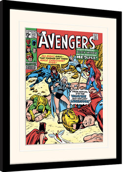 Framed poster Marvel Comics - Male Chauvinist Pigs