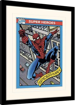 Marvel Comics - Spider-Man Trading Card Framed poster