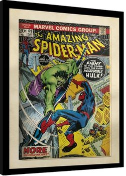 Framed poster Marvel Comics - Spiderman