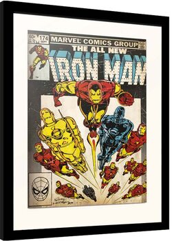 Framed poster Marvel - Iron Man