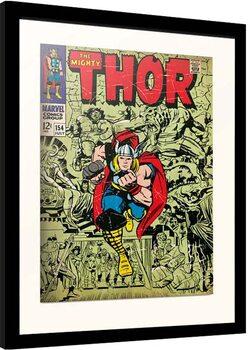 Framed poster Marvel - Thor
