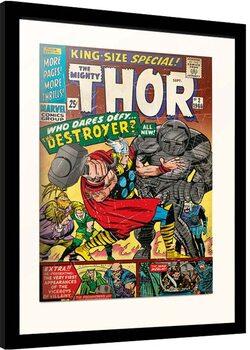 Framed poster Marvel - Thor - King Size Special
