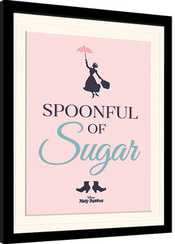 Framed poster Mary Poppins - Spoonful of Sugar
