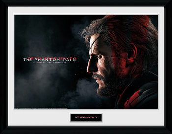 Metal Gear Solid V - Snake Framed poster