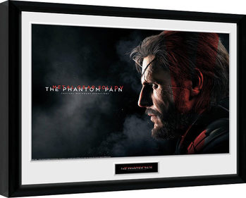 Metal Gear Solid V - Snake Framed poster