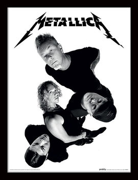 Metallica - Twisted Band Framed poster