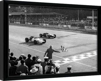 Monaco - 10 Framed poster
