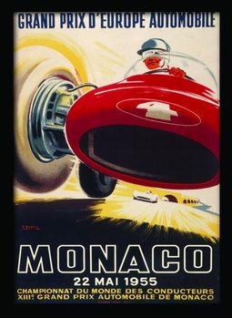 MONACO (7) Framed poster