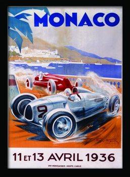 MONACO (9) Framed poster