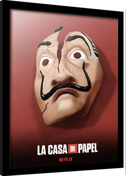 Framed poster Money Heist (La Casa De Papel)
