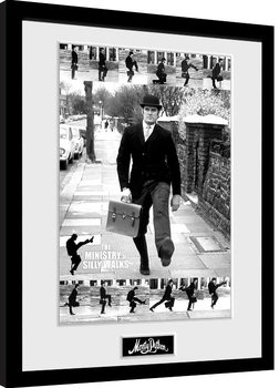Framed poster Monty Python - Ministry of Silly Walks
