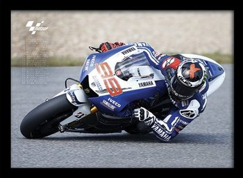 MOTO GP - Lorenzo Framed poster