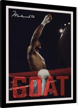 Framed poster Muhammad Ali - GOAT