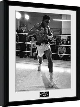 Muhammad Ali - Shadow Box Framed poster