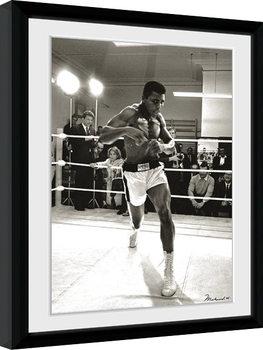 Muhammad Ali - Spar Framed poster