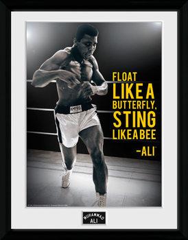 Muhammad Ali - Sting Like A Bee plastic frame