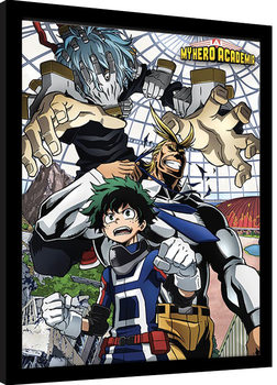 My Hero Academia - An Enemy Threat Framed poster