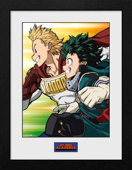 Framed poster My Hero Academia - Season 4 Teaser