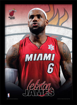 NBA - Lebron James Framed poster