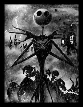 Nightmare Before Christmas - Jack Storm Framed poster