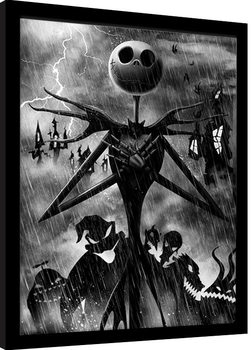 Nightmare Before Christmas - Jack Storm Framed poster