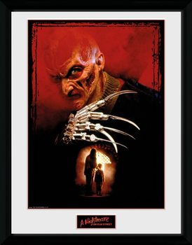 Nightmare On Elm Street - Collage Framed poster