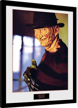 Framed poster Nightmare On Elm Street - Freddy
