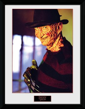 Framed poster Nightmare On Elm Street - Freddy