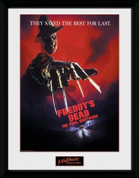 Framed poster Nigtmare On Elm Street - The Final Nightmare