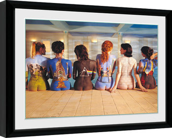 Framed poster Pink Floyd - Back Catalogue