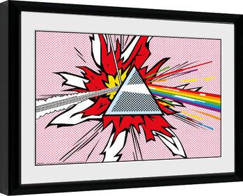 Pink Floyd - Liechtenstein Framed poster