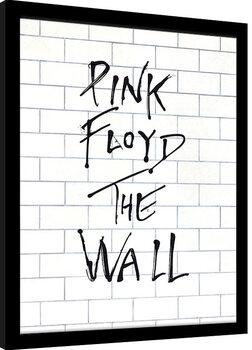Framed poster Pink Floyd - The Wall Album